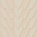 79/15055.CS Chevron Bisque by Cole & Son