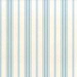 LWP62178W Picket Fence Stripe Cream/Chambray by Ralph Lauren