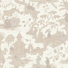 100/8039.CS Chinese Toile Neutral by Cole & Son