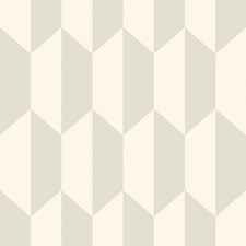 White and Stone Print Wallcovering by Cole & Son